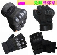 Male semi-finger tactical gloves sports is the whole male fitness