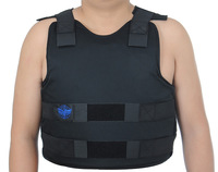 PE  bulletproof vests black  with nij iiia  Bulletproof Body Armor IIIA Size XXL