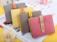 Fashion Cute Napping Leather Women Wallet Woman Designer Wallets Belt Purse with Credit Card Coin Money Change Wallets B26