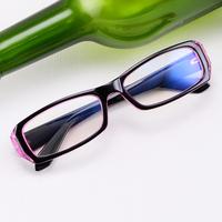 Men or Women radiation-resistant fashion glasses small spectacles eyeglasses frames black/pink/blue/coffer