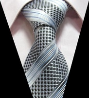 Mix Color JACQUARD New Silk Classic Elegant Woven Man's Tie Necktie TIE044