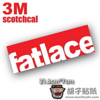 2013 New Hot SaleCar sticker hellaflush fatlace remoulded car stickers car stickersFree Shipping
