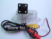 Mitsubishi Lancer hd ccd+led car Waterproof camera Free shipping