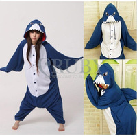 Shark Cartoon Animal Onesies Onesie Adult Unisex Kigurumi Cosplay Costumes Women Pyjamas Pajamas