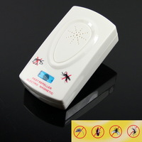Free shipping High Quality Electronic Ultrasonic PEST BUG Control Repeller for Driving Rodent Away