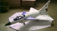 2014 New! white color J-10A  jet J-10 EPO warbird fighter Kit format without retractable landing gear
