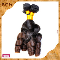 FREE SHIPPING 3 pcs/lot brazilian virgin human hair TOP QUALITY Brazilian virgin hair T color Funmi hair