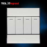 Tcl luogelang electric switch socket a8 series switch neon tape