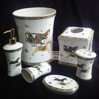 European ceramic sanitary ware six times/bathroom wash gargle sanitary ware group  tissue box style suits