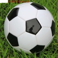 Free Shipping High Quality Size 3 Children Soccer Black & white Classic Football Kids Birthday Gift Diameter 18cm Ball FP063