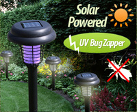 New 10pcs outdoor mosquito lamp, purple LED and white LED lighting factory wholesale free shipping
