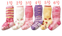 1111 13 spring baby socks stocking kneepad female baby socks child socks