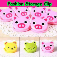 2781 Min order $10 (mix order) free shipping cartoon animal head storage clip card holder clothing clip notes folder 6pcs/lot