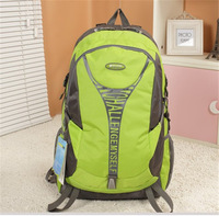 New Free Shipping Green-Gray Thickening Fashion Casual Outdoor Travel Ultralight Nylon Backpack Casual Shoulder Bag-7817