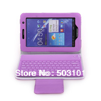 50pcs/lot Silicon Bluetooth Keyboard Case For Samsung Galaxy Tab 2 7.0 P3100 P3110 P3113