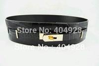 H029  smooth leather ,crocodile leather  luxury  guaranteed 100% genuine leather wholesale and retail fashion  belt