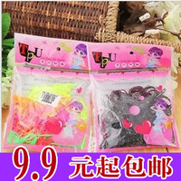 A0355 accessories disposable bags of rubber band headband hair rope tousheng hair accessory hair accessory