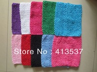 "2013  Free Shipping Wholesale boutique 8"" Crochet Tube Tops,10pcs/lot"