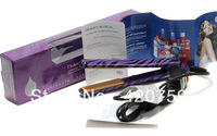 hot selling !The purple straight iron/curlers Q002