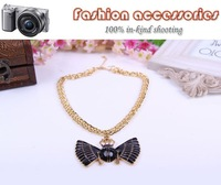 2014 new Arrive Europe and the United States retro fashion gold insect Necklace A939