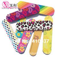 50pcs Professional decorative design  Nail Files Buffer Buffing  GIRLIE MINI EMERY BOARDS  - BULK 100/180