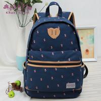 fresh women's canvas handbag travel bag fashion school bags