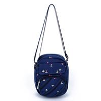 Wooden old manse print canvas bag shoulder bag preppy style small cross-body bag small fresh women's handbag w283
