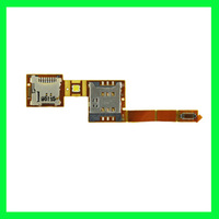 5pcs Sim SD Card Slot Flex Cable Repair Part For Sony Ericsson Xperia X10 X10a X10i Free Shipping