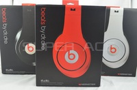 2013 Hot sell 3.5mm Studio Stereo headphones DJ headsets middle Headset free shipping