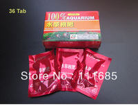 Free Shipping High Quality 5 Packs Water Grass Root Basal Fertilizer Liquid Fertilizer Tablet 36 Tab Planted Tank Aquarium