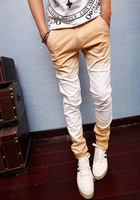 Men's clothing 2013 summer gradient classic trousers slim jeans male trend of the street skinny pants