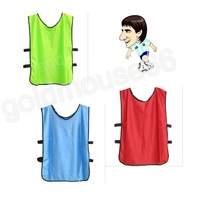 Free Shipping 6 Color High Quality Soccer Football Shirt Lacrosse MENS Scrimmage Training Vests Scrimmaging reserve Team FP071