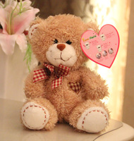 Repeating & Recording!Russian English all language Talking plush teddy bear toy soft baby's stuffed toy(brown,beige,coffee)