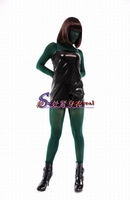 Free Shipping Green velvet all-inclusive tights performance wear props