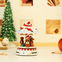 Christmas hat rotating music box lamp birthday gift