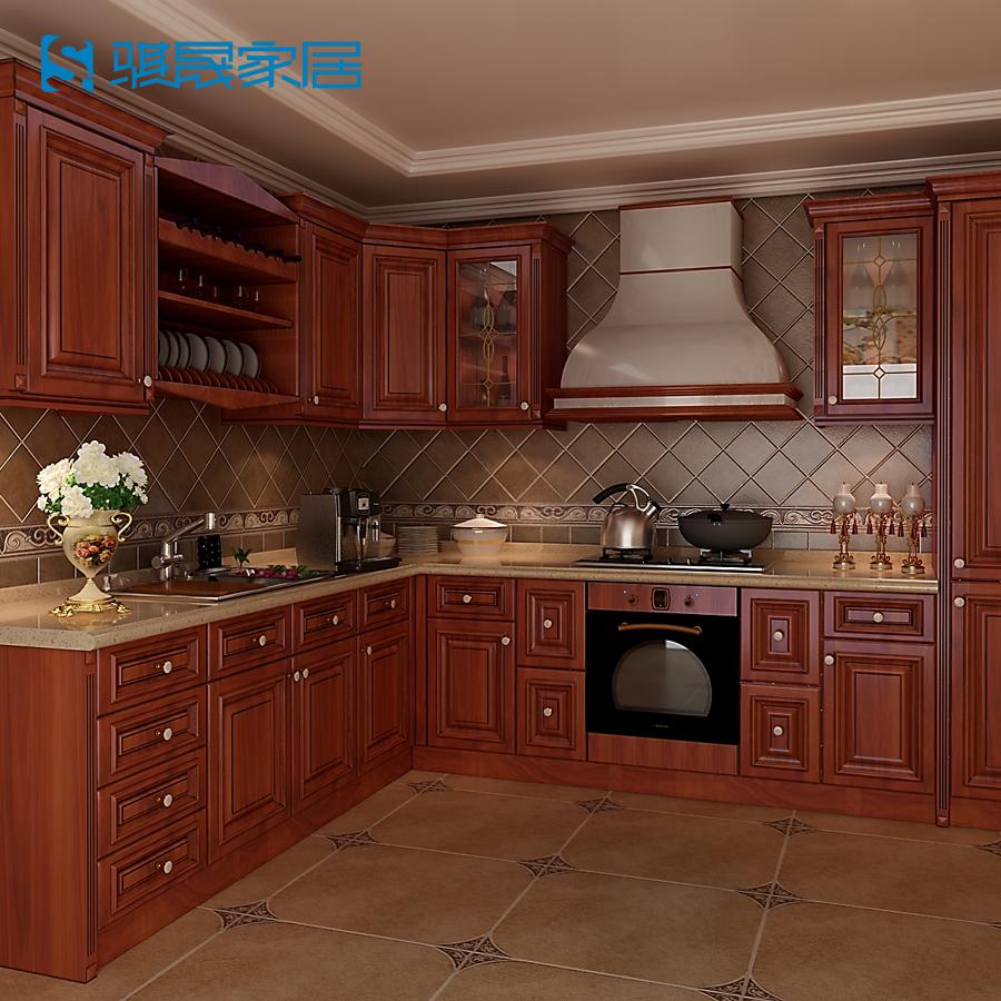achetez en gros armoires de cuisine en bois massif en. Black Bedroom Furniture Sets. Home Design Ideas