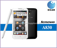 Lenovo A830 Russian language  quad core MTK6589 mobile phone Ram 8.0mp Free shipping 3G Smart Phone
