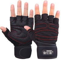 2013 Sports Fitness Gloves Exercise Training  Gloves Multifunction for Men & Women sweat absorption friction resistance