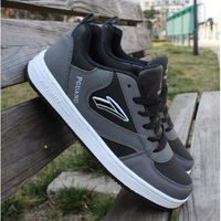 Dropshipping Autumn and Winter Male Skateboarding Shoes Popular Men's Fashion Casual Cow Muscle Elevator Shoes Free shipping
