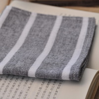 Senior handmade custom Male handkerchief double layer 100% cotton handkerchief