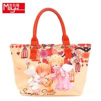 Bag thickening waterproof canvas women's handbag one shoulder handbag canvas handbag women's m629