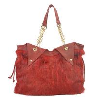 Bag 2012 winter rabbit fur handbag women's handbag all-match fur bags 6586