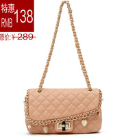 2013 women's handbag plaid chain small bags women's shoulder bag bags messenger bag