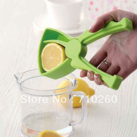 Free shipping,to sell fruit juice maker Lemon/Orange Manual Juicer Lazy Kitchen Supplies Easy Cleaning ABS