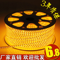 High bright led strip super bright 220v strip 5050 in42patients colorful waterproof ribbon living room ceiling 3528 in42patients