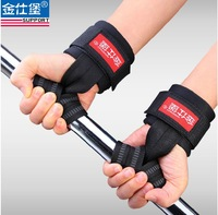 one pair Weightlifting Belt Power Band Horizontal Sport Wristbands Sports Safety Gym Fitness