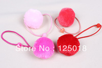 100Pcs/Lot Candy-colored Children's Hair Accessories Small Pompon Tousheng