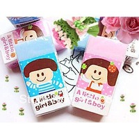Promotion Deli 9364 Stationery Cartoon eraser 4*2*1cm 48Pcs/Lot Free Shipping 2044