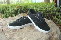 Vulcanized skateboard shoes male plus size 45.548 cowhide street skateboarding shoes