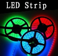 10pcs/lot 5M 3528 Flexible Strip Light 3528 60 LED Strip Light Single Color LED 3528 Strip LightWaterprooof
